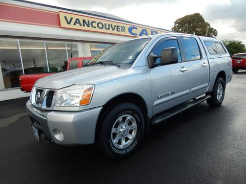 2006 Nissan Titan for sale in Vancouver, WA