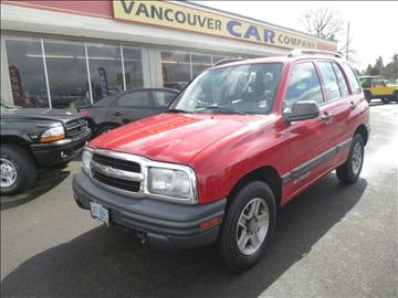 2003 Chevrolet Tracker for sale in Vancouver, WA