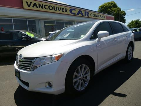 2010 Toyota Venza for sale in Vancouver WA