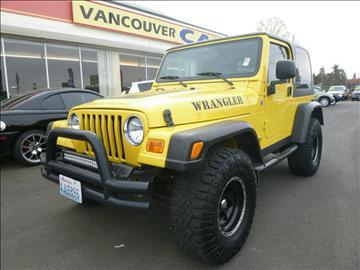 jeep wrangler for sale vancouver wa. Black Bedroom Furniture Sets. Home Design Ideas