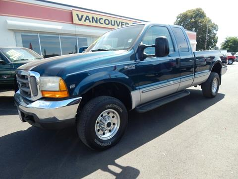 1999 Ford F-250 Super Duty for sale in Vancouver WA
