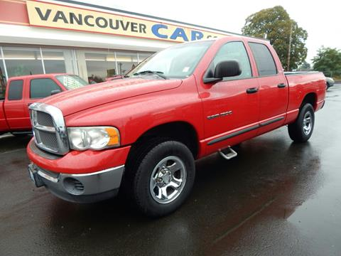 2002 Dodge Ram Pickup 1500 for sale in Vancouver WA