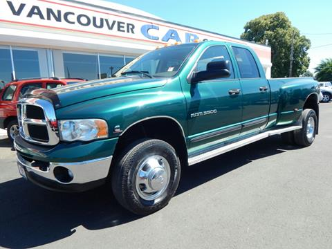 2003 Dodge Ram Pickup 3500 for sale in Vancouver WA