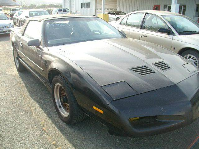 1992 pontiac firebird trans am 16 v in ukiah ca. Black Bedroom Furniture Sets. Home Design Ideas