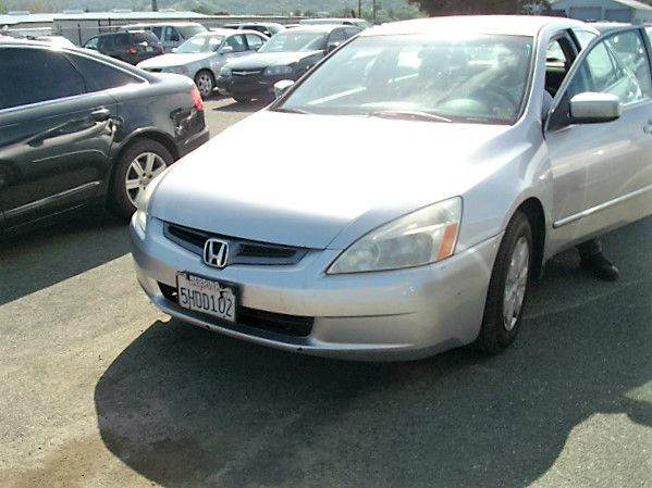 2004 honda accord lx 4dr sedan in ukiah ca mendocino. Black Bedroom Furniture Sets. Home Design Ideas