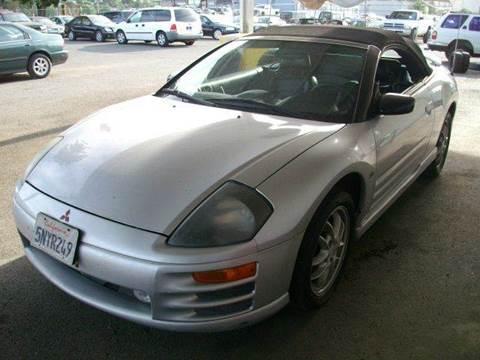 2001 Mitsubishi Eclipse Spyder for sale in Ukiah, CA