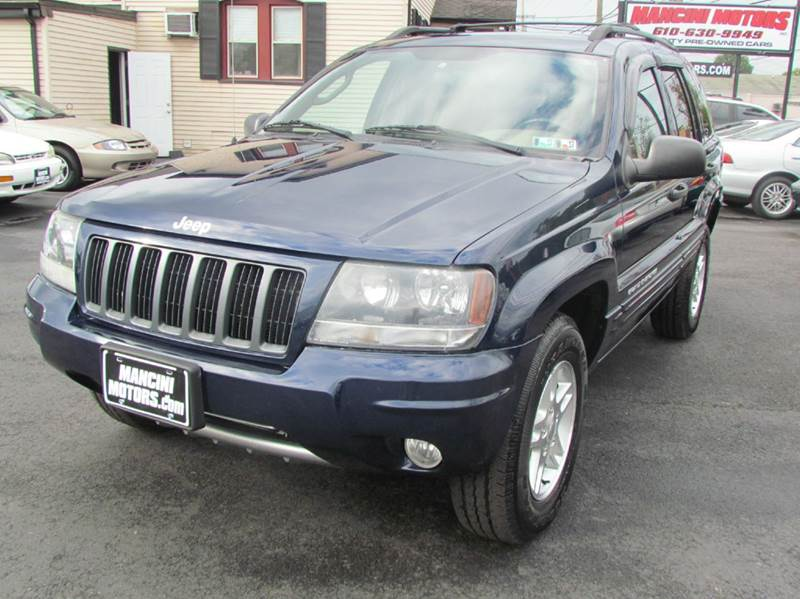 2004 jeep grand cherokee 4dr special edition 4wd suv in norristown pa mancini motors inc. Black Bedroom Furniture Sets. Home Design Ideas