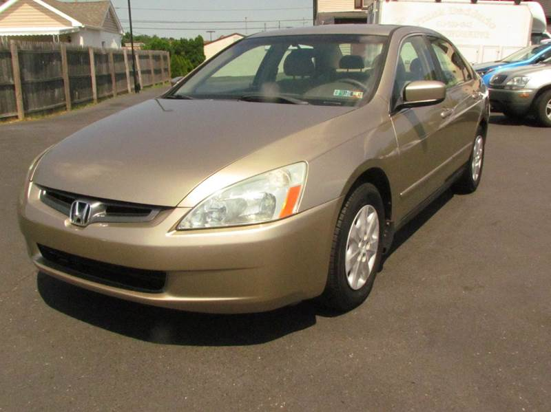 2004 honda accord lx 4dr sedan in norristown pa mancini. Black Bedroom Furniture Sets. Home Design Ideas