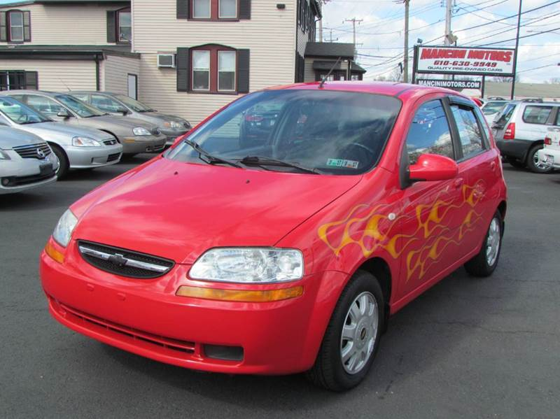 2005 chevrolet aveo lt 4dr hatchback in norristown pa. Black Bedroom Furniture Sets. Home Design Ideas