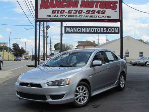 2012 Mitsubishi Lancer for sale in Norristown, PA