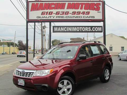 2012 Subaru Forester for sale in Norristown, PA