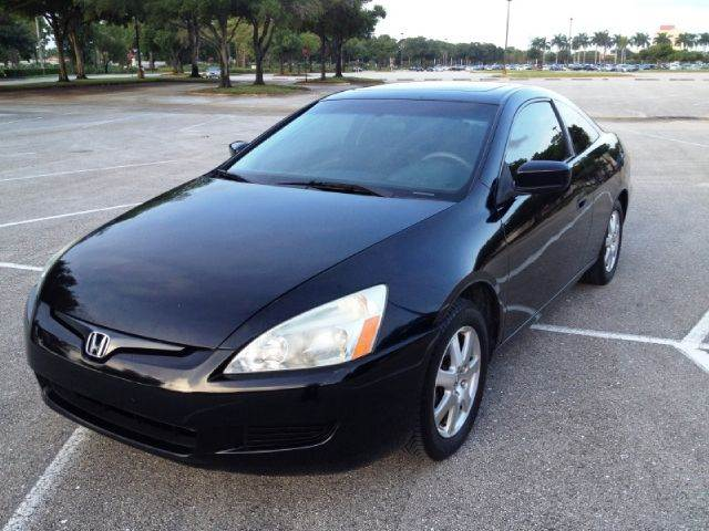 2005 Honda Accord EX PZEV w/Leather 2dr Coupe (2.4L 4cyl 5A) - St Augustine FL
