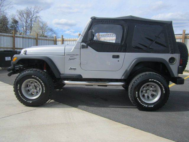 2000 Jeep Wrangler Unlimited