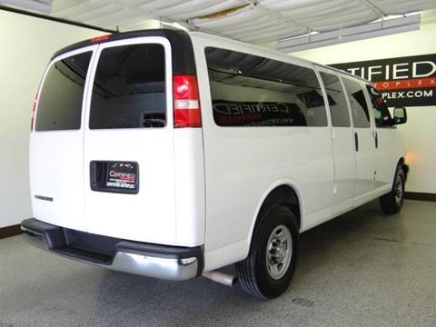 2017 Chevrolet Express Passenger LT 3500 3dr Extended Passenger Van In Carrollton  TX   CERTIFIED AUTOPLEX INC