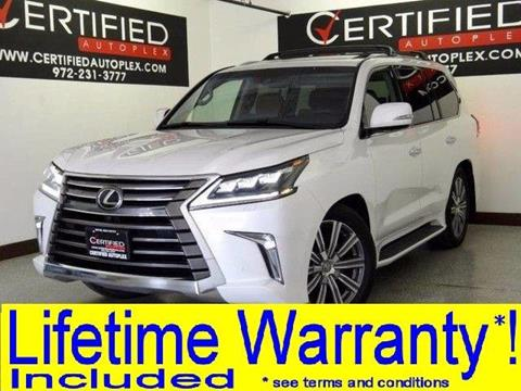 2017 Lexus LX 570 for sale in Carrollton, TX