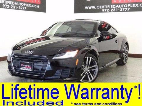 2016 Audi TT for sale in Carrollton, TX