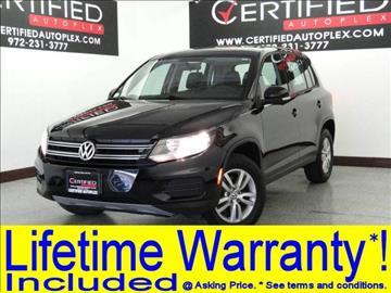 2014 Volkswagen Tiguan for sale in Carrollton, TX