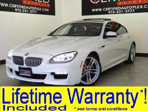 2015 BMW 6 Series for sale in Carrollton, TX