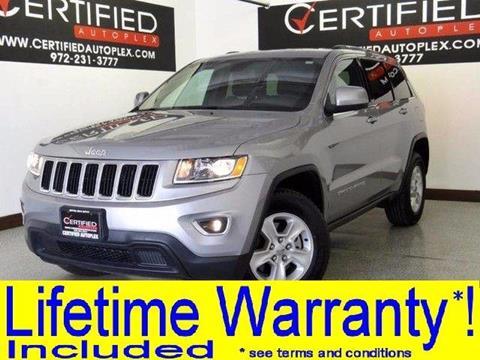 2016 Jeep Grand Cherokee for sale in Carrollton, TX
