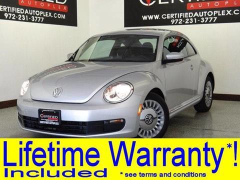 2013 Volkswagen Beetle for sale in Carrollton, TX