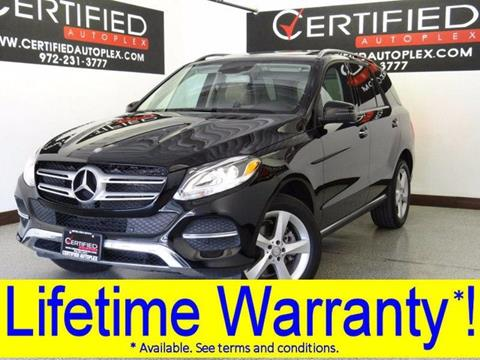 2016 Mercedes-Benz GLE for sale in Carrollton, TX
