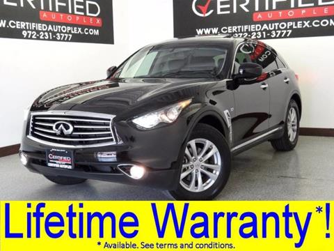 2016 Infiniti QX70 for sale in Carrollton, TX