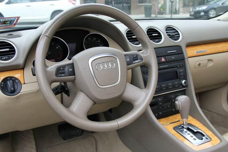 2007 Audi A4 2.0T quattro AWD 2dr Convertible (2L I4 6A) - Pompton Lakes NJ