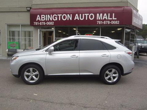 2011 Lexus RX 350 for sale in Abington, MA