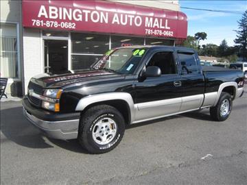 2004 Chevrolet Silverado 1500 for sale in Abington, MA