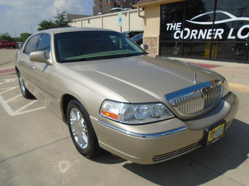 2008 lincoln town car signature limited 4dr sedan in bryan. Black Bedroom Furniture Sets. Home Design Ideas