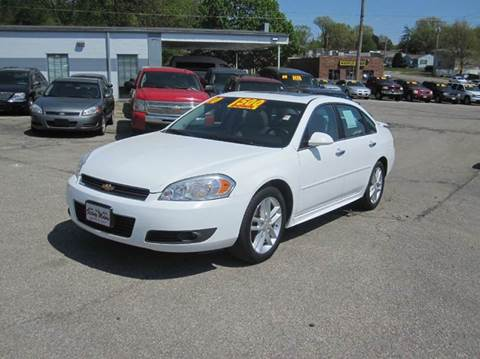 2010 Chevrolet Impala For Sale Iowa