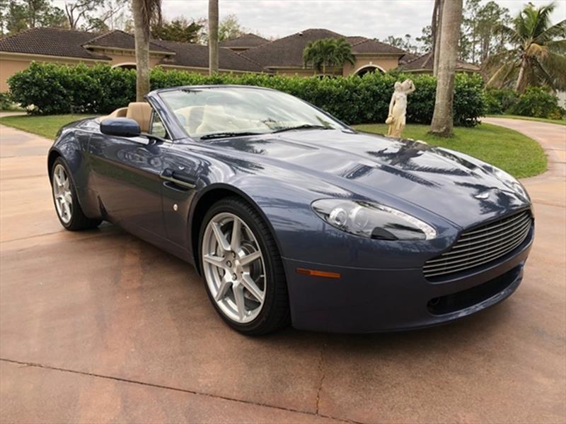 2007 Aston Martin V8 Vantage For Sale In Naples FL