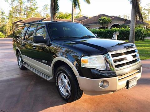 2008 Ford Expedition EL for sale in Naples, FL