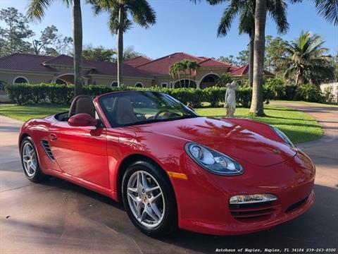 2011 Porsche Boxster for sale in Naples, FL