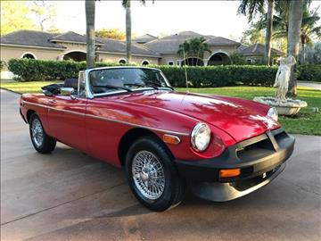 1980 MG MGB for sale in Naples, FL