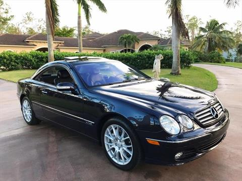 2005 Mercedes-Benz CL-Class for sale in Naples, FL