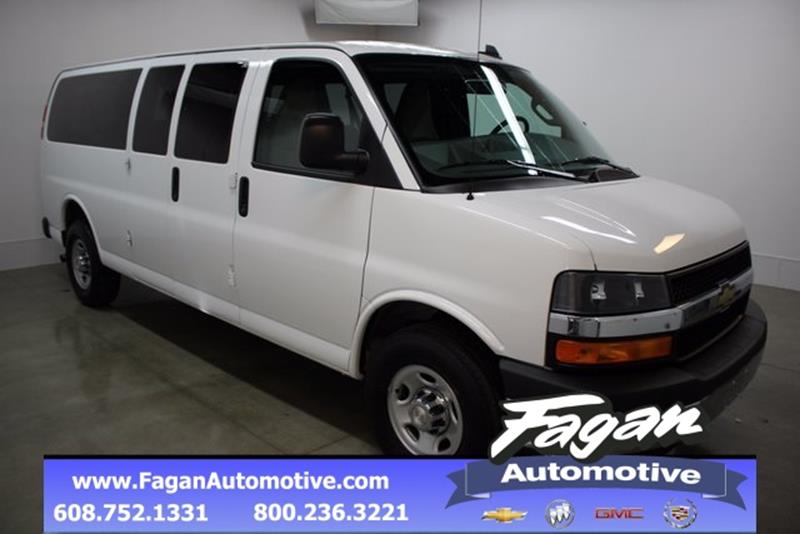 2017 Chevrolet Express Passenger For Sale In Janesville WI