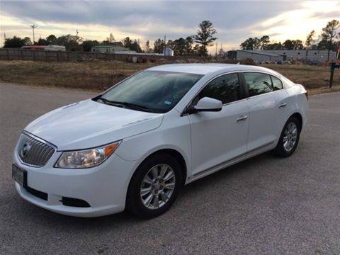 2010 buick lacrosse for sale in texas. Black Bedroom Furniture Sets. Home Design Ideas