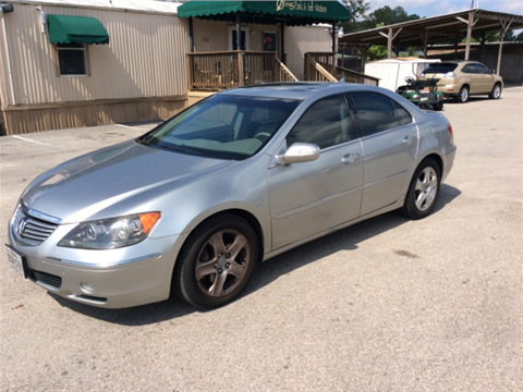 2007 Acura RL for sale in Spring, TX