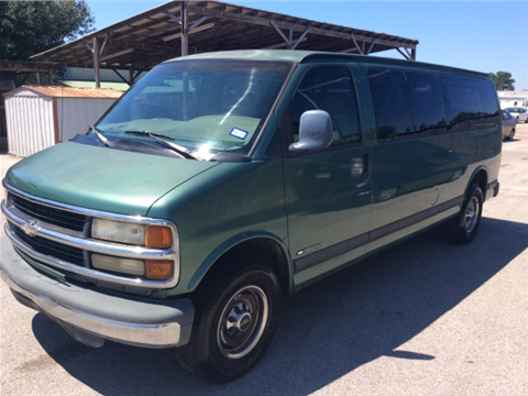 1999 Chevrolet Express Passenger for sale in Spring, TX