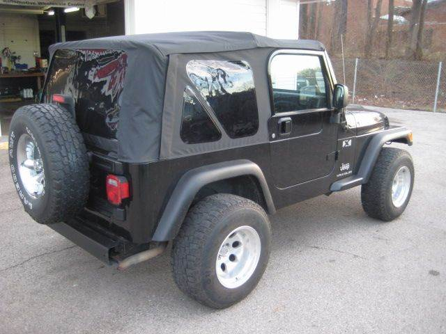 2005 Jeep Wrangler 2dr X 4WD SUV - St. Charles MO
