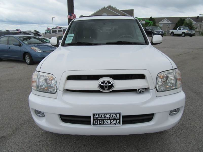 2007 Toyota Sequoia SR5 4dr SUV 4WD - St. Charles MO