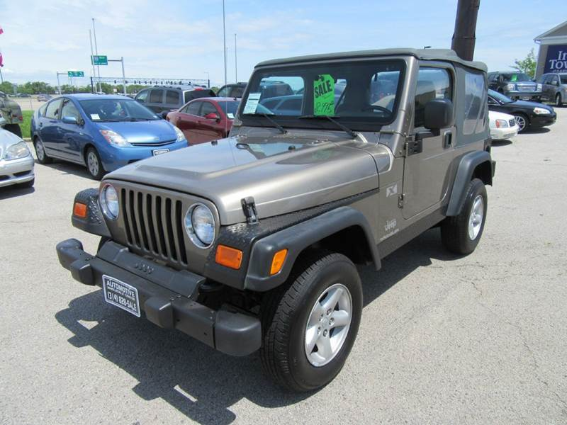 2003 Jeep Wrangler X 4WD 2dr SUV - St. Charles MO