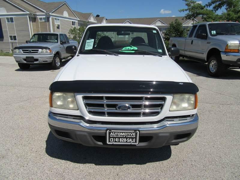 2001 Ford Ranger 2dr Standard Cab XLT 2WD Styleside SB - St. Charles MO