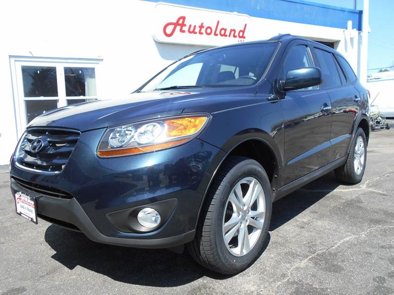 2010 hyundai santa fe awd limited 4dr suv in coventry ri. Black Bedroom Furniture Sets. Home Design Ideas