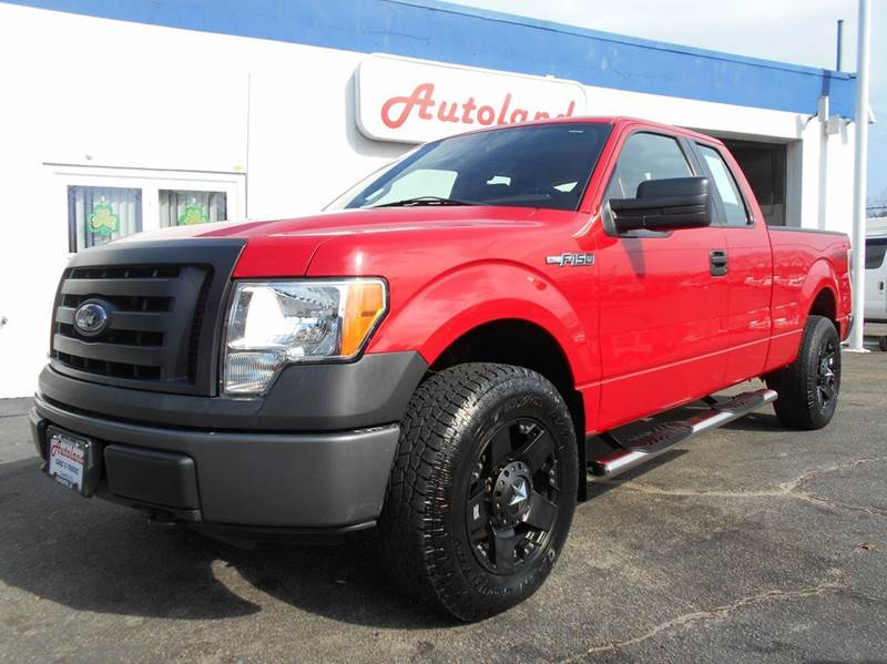 2010 ford f 150 4x4 xl 4dr supercab styleside 6 5 ft sb in coventry ri autoland inc. Black Bedroom Furniture Sets. Home Design Ideas