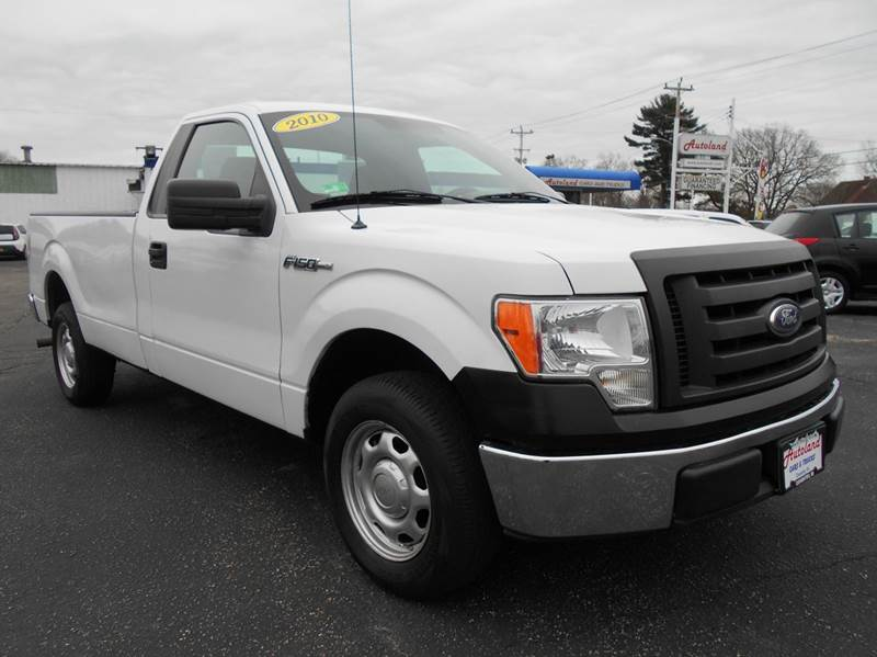 2010 ford f 150 4x2 xl 2dr regular cab styleside 8 ft lb in coventry ri autoland inc. Black Bedroom Furniture Sets. Home Design Ideas