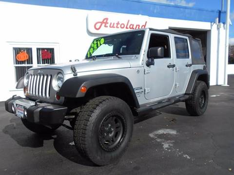 2011 Jeep Wrangler Unlimited for sale in Coventry, RI