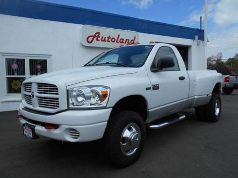 2008 dodge ram pickup 3500 for sale in coventry ri - Dodge Ram 3500 Dually Lifted With Stacks