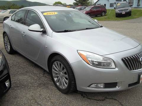 2011 Buick Regal for sale in Rutland, VT
